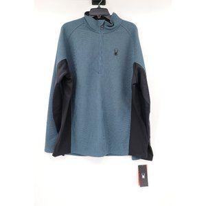 NWT Spyder mens XXL outbound half zip core sweater